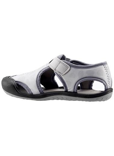 Ayakland Ayakland Kids 1 Gri Aqua Erkek Çocuk  Sandalet Panduf Ayakkabı Gri
